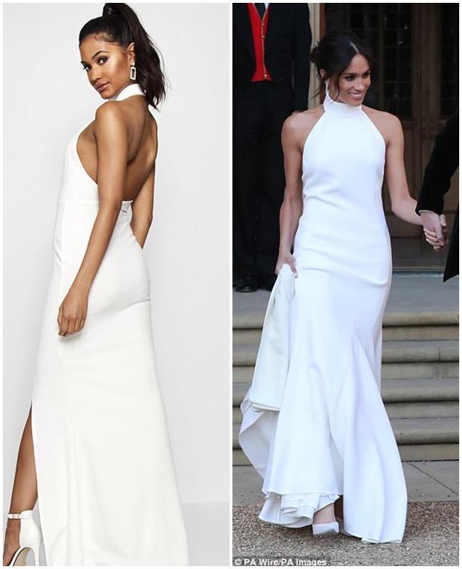 Váy cưới công nương meghan đã có phiên bản giá chỉ 700 nghìn - 3
