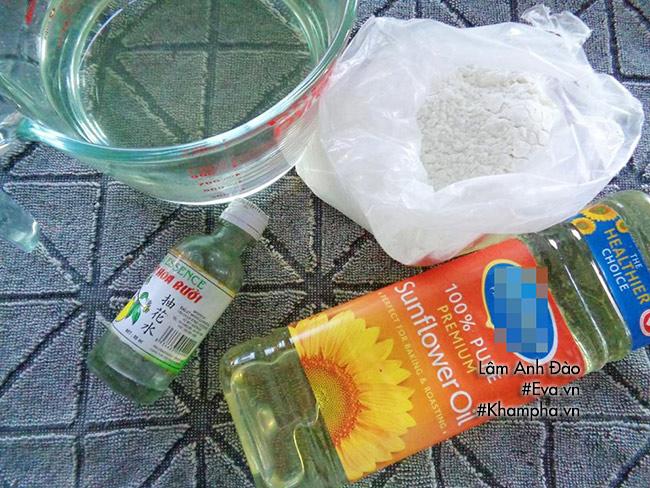 Cách làm bánh dẻo lá dứa chay nhân ngày mùng 1 tháng 7 âm lịch - 2