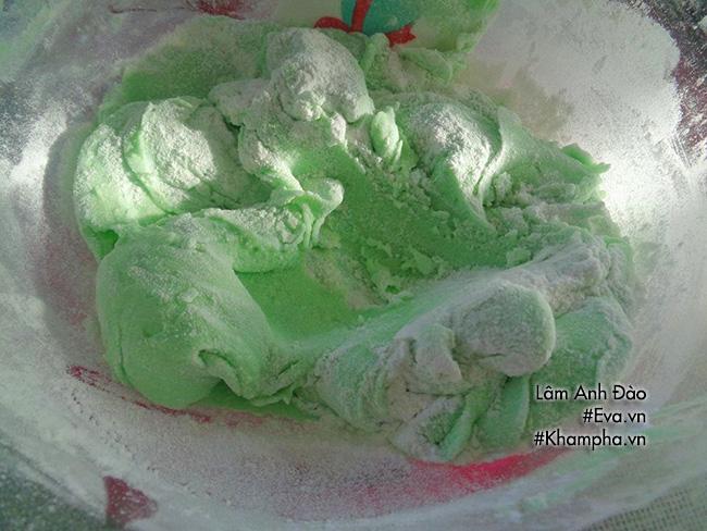 Cách làm bánh dẻo lá dứa chay nhân ngày mùng 1 tháng 7 âm lịch - 5