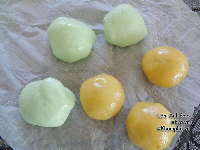 Cách làm bánh dẻo lá dứa chay nhân ngày mùng 1 tháng 7 âm lịch - 8