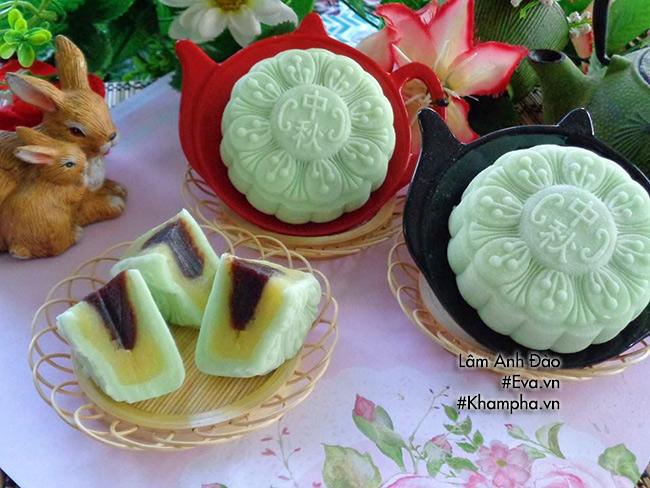 Cách làm bánh dẻo lá dứa chay nhân ngày mùng 1 tháng 7 âm lịch - 13