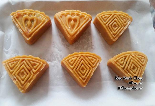 Cách làm bánh nướng nhân đậu xanh cổ truyền cúng rằm tháng 7 - 4