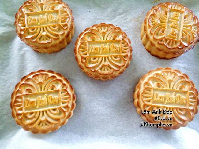 Cách làm bánh nướng nhân khoai môn dẻo đơn giản ngon miệng - 11