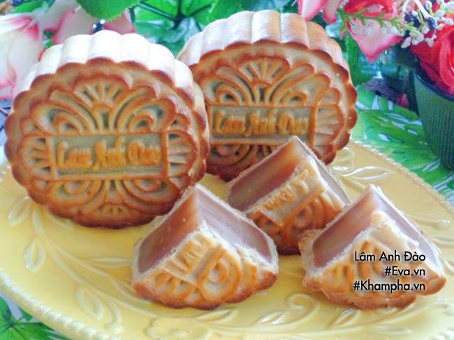Cách làm bánh nướng nhân khoai môn dẻo đơn giản ngon miệng - 16