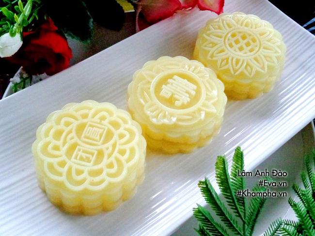 Cách làm bánh trung thu thạch rau câu vị sầu riêng ăn là thích liền - 10