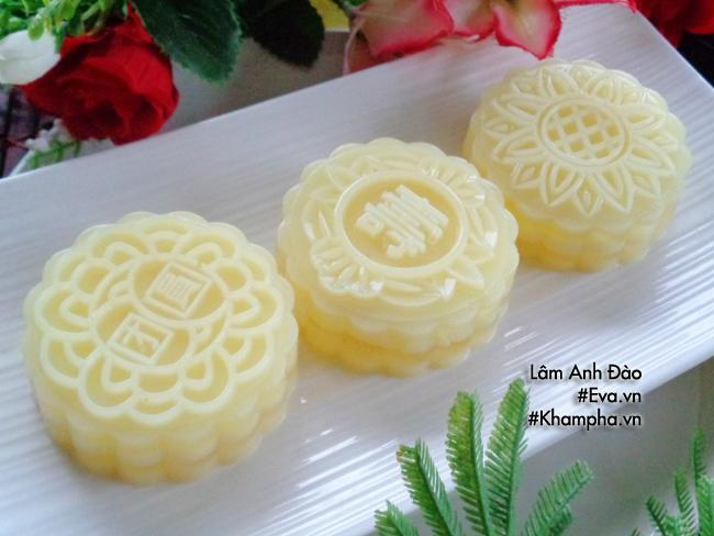Cách làm bánh trung thu thạch rau câu vị sầu riêng ăn là thích liền - 12
