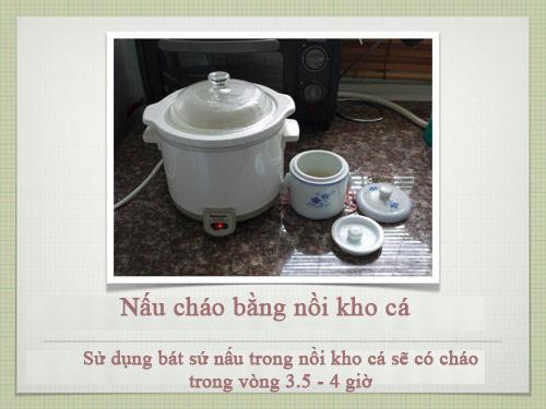 Công thức nấu cháo siêu chuẩn cho con - 1