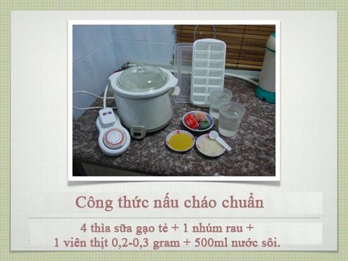 Công thức nấu cháo siêu chuẩn cho con - 4