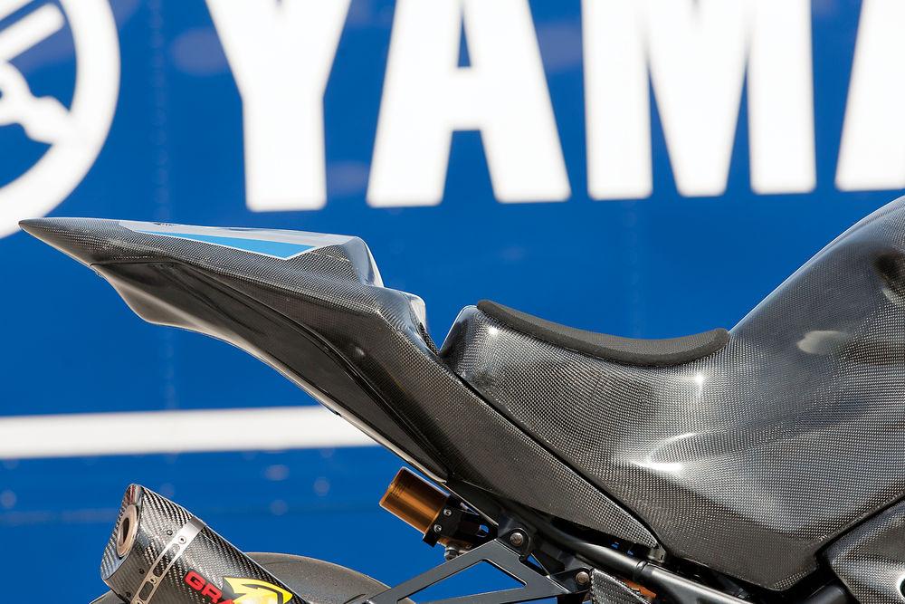 Hàng nóng yamaha r3 độ kịch khung để bước vào sân đua lớn - 6