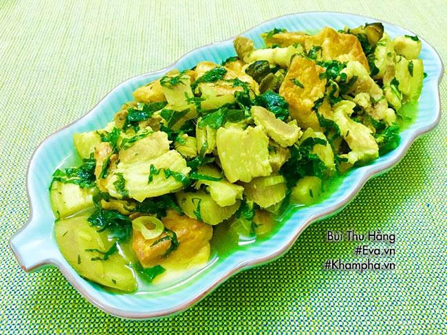 Thực đơn cơm chiều có ốc nấu chuối đậu tôm rim nước dừa ai nghe cũng thấy thèm - 3
