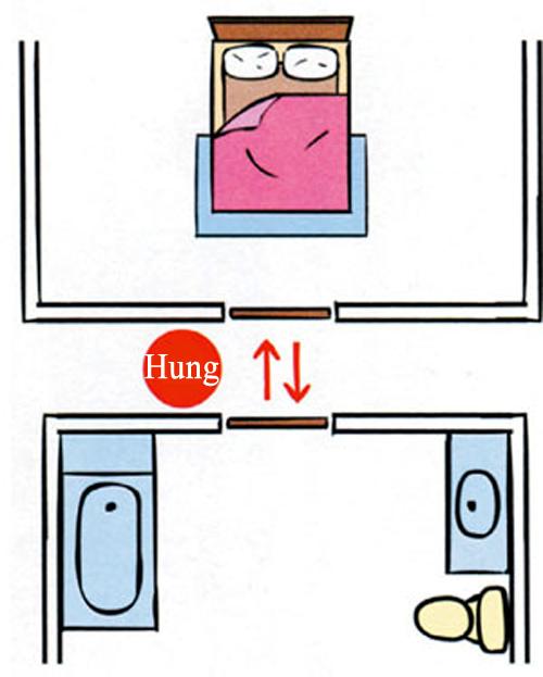 Tranh chữ trong phòng ngủ vợ chồng bất hòa liên miên - 4