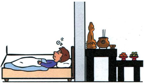 Tranh chữ trong phòng ngủ vợ chồng bất hòa liên miên - 5