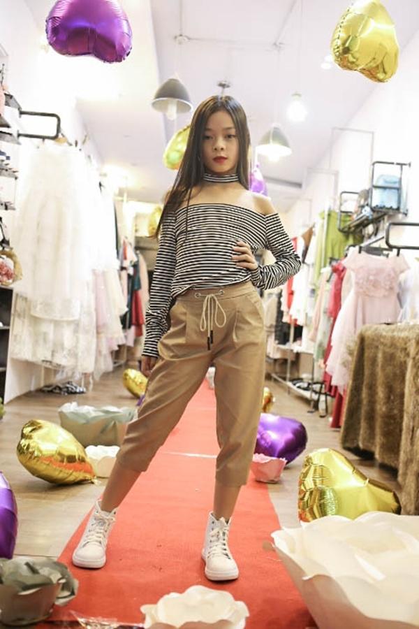 Mẫu nhí xuất hiện sành điệu trong buổi casting show diễn bst fairy land của ntk thảo nguyễn - 2
