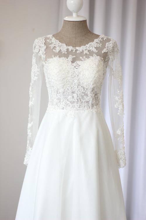 Cận cảnh váy cưới tâm tít sẽ mặc trong hôn lễ - 8