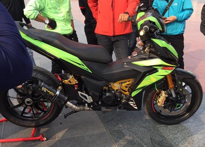 Winner 150 độ full option ducati 1199 hầm hố của biker việt - 7
