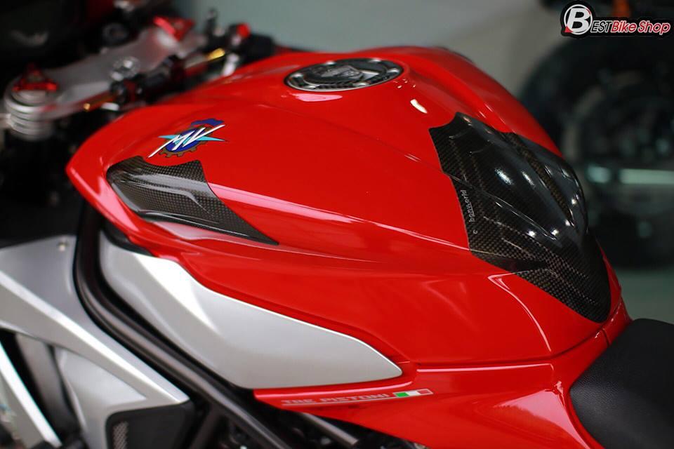 Cận cảnh siêu mô tô ý mv agusta f3 675 nâng cấp nhẹ nhàng đầy sức hút - 6