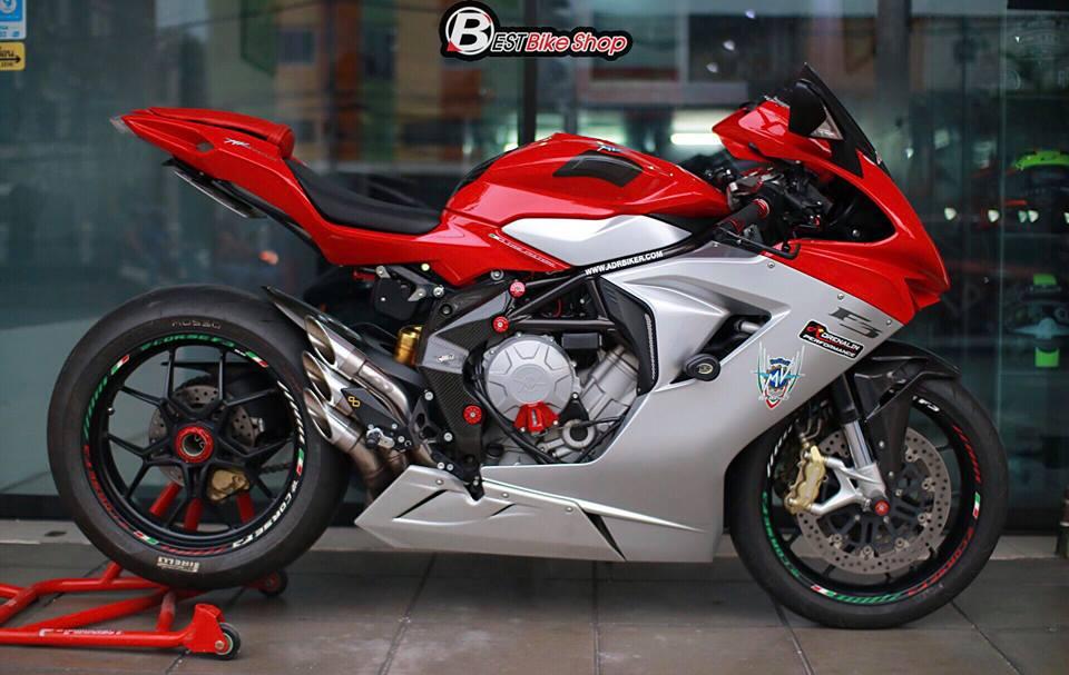 Cận cảnh siêu mô tô ý mv agusta f3 675 nâng cấp nhẹ nhàng đầy sức hút - 10