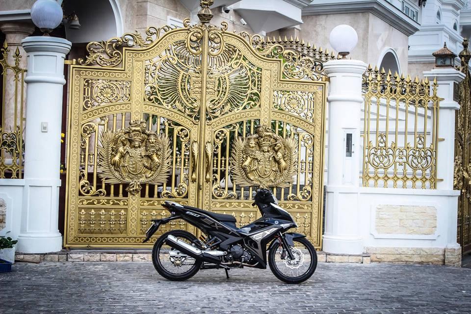 Exciter 150 độ tuyệt đẹp của một biker nổi tiếng ở sài gòn - 1