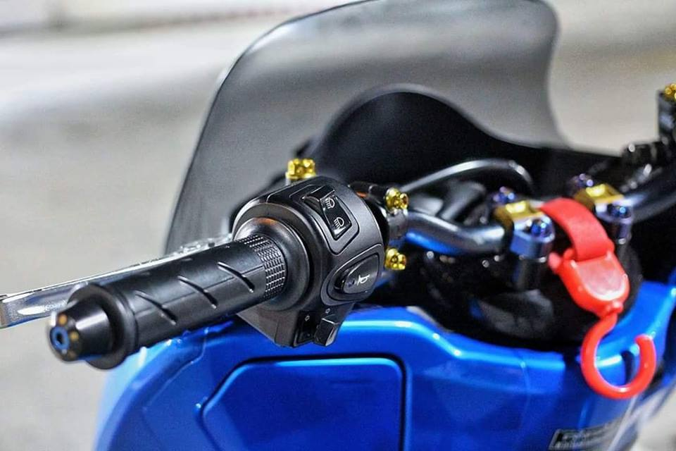 Pcx 150 độ mang ánh mắt hung tợn dưới màn đêm của biker nước bạn - 4