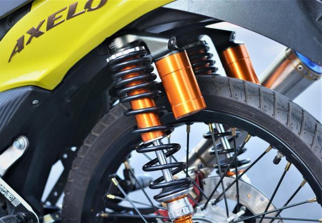 Axelo 125 độ công suất đạt 32 mã lực sức mạnh gấp 3 lần xe zin - 13